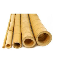 "2"" Contemporary Artificial Natural Bamboo Poles"
