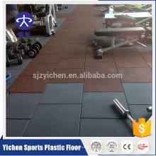 Хороший защитный эластичный кроссфит резиновая плитка,резиновые маты для спортзала