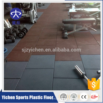 Chine Bonne Tuile De Plancher De Caoutchouc De Crossfit élastique De