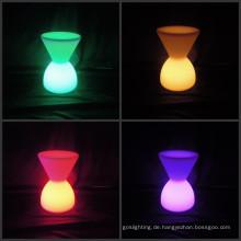 Outdoor Bunte wasserdichte Möbel LED Drum Stuhl (H026)
