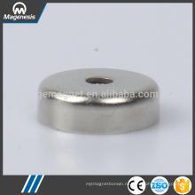 Китай хороший поставщик хорошее качество неодимовый магнит в котелке с круглым отверстием