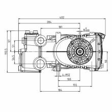 Сверхмощный триплекс плунжерных насосов 142L/мин