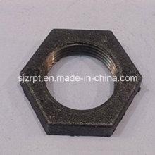 """Accesorios de tubería de hierro maleable 3/4 """"Black Locknut"""
