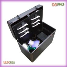 Caisse portative professionnelle de transport d'outil de coiffeur de grand volume (SATC002)