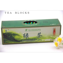 125g for reducing blood suger pure green tea blocks