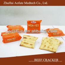 Rindfleisch Cracker & Name der Kekse