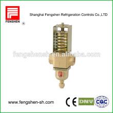 Válvula de control de flujo de agua controlada por presión de agua