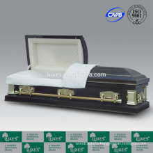 LUXES American Popular Selling 18ga Metal Caskets Made In China