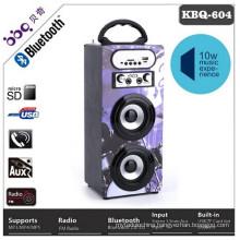BBQ Model number KBQ-604 battery 1200mAh wireless best rated bluetooth speaker