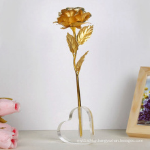 Heart Shape Vase Acrylic Holder, Flower Acrylic Display Stand