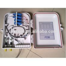 16 Core LC SC Fibra óptica Caixa de distribuição