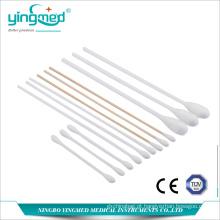 Cotonete de algodão de bambu médico