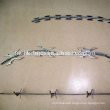 Spiral BTO-22 450mm Galvanized Razor Barbed Wire