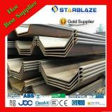Design best sell larsen steel sheet pile sy295