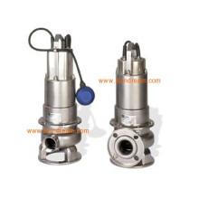 Pompe submersible en acier inoxydable approuvée par l'ISO