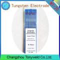 WT-20 2% Thoriated ROJO 1,6 mm 1/16 '' TIG electrodos de tungsteno