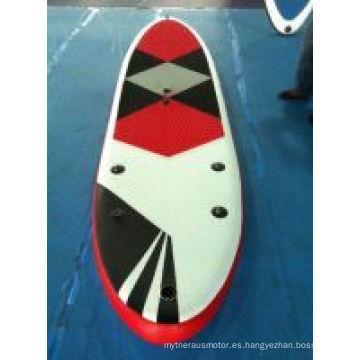 Tablas de paleta vendedoras calientes de la tabla de surf de la puntada del descenso 3D