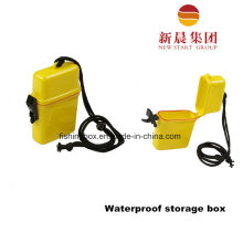 Portable Plastic Fishing Box for Waterproof Storage