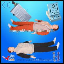 Advanced adulto simulador de primeros auxilios Cuerpo completo CPR maniquí maniquí