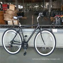 Aluminum Alloy 700c Men City Cruiser Unisex Hybrid Bikes
