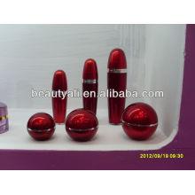 Botella de acrílico de la forma de la bola 80ml
