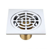 100mm 120mm Brass odor-resistant and anti-clogging floor drain for bathroom and washing machine