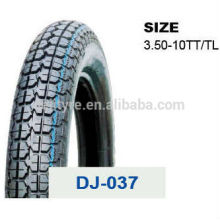 china motorcycle tires/tyre and tube price 3.50-10 TL/TT
