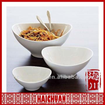 Porcelain boat shape bowl, boat shaped ceramic bowls