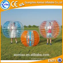 Half color tup bubble soccer bubble ball human buddy bumper ball for adult