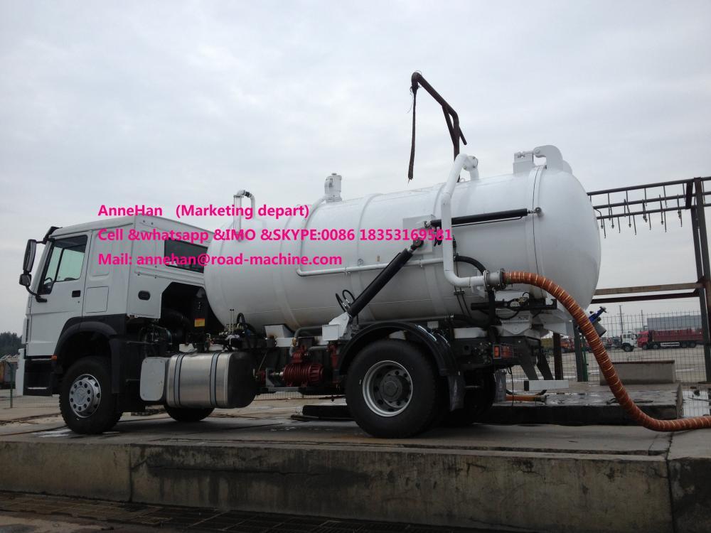 Sewage Tank Truck 1
