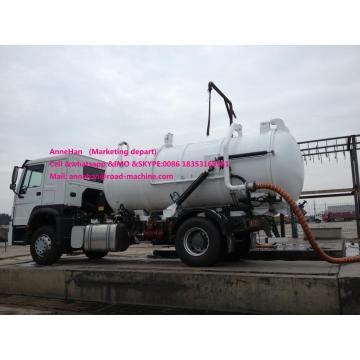 4x2 8M3 Sinotruk Rubbish Bin Truck