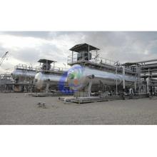 Tratamiento de aceite de lodos industriales Equipo de destilación usado