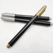 Горячая Распродажа Золотой или Серебряный металлик перманентный маркер