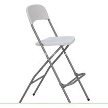 Folding plastic chair