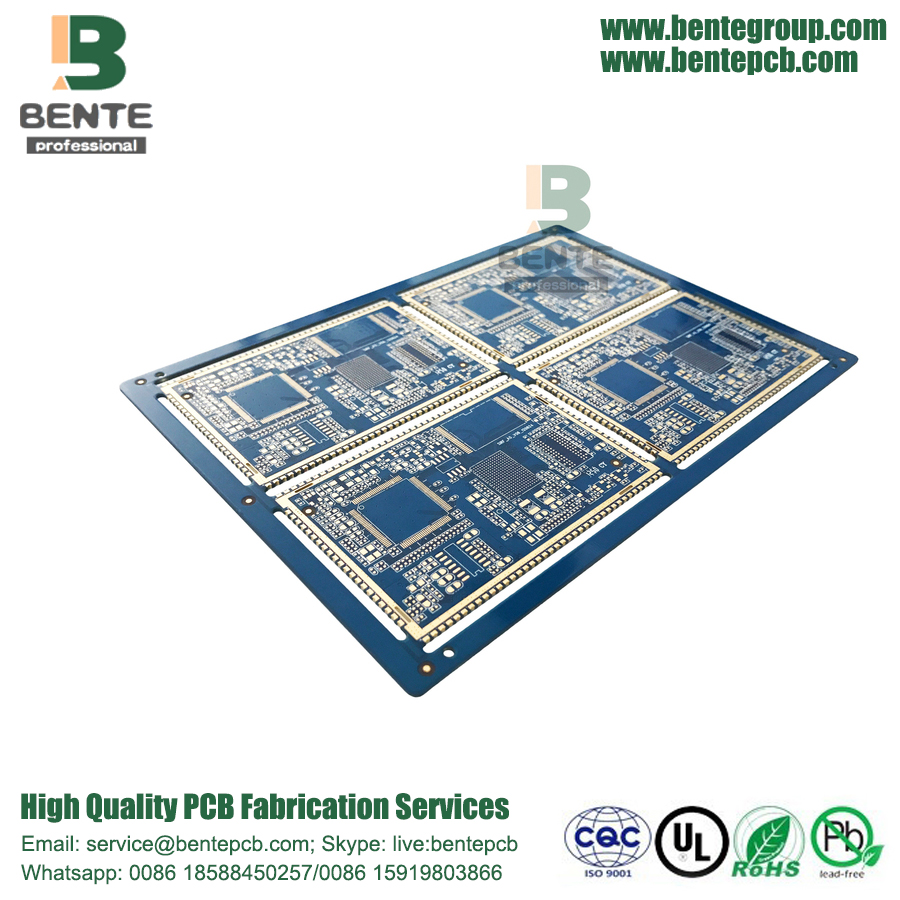 Multilayer PCB FR4 ENIG Impedance Control