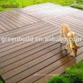Outdoor Decking Light Red Oak Solid Wood Flooring