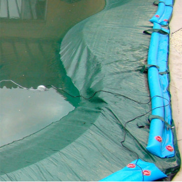 Waterproof Blue PE tarp fabric