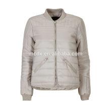 mais tamanho nova jaqueta de poliéster design moderno para mulheres 2014