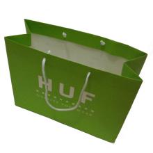 Saco de papel com impressão a cores para embalagem de presente