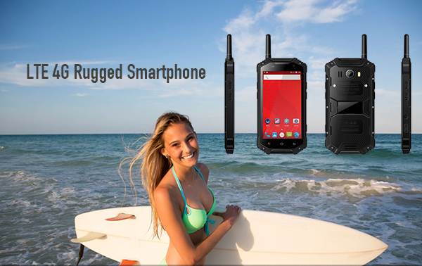 LTE 4G Rugged Smartphone