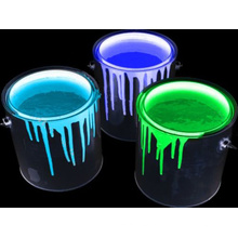 Photolumineszenzfarbe Gelbgrün