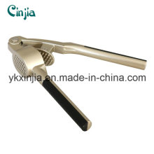 Kitchenware High Quality Soft Handle Stainless Steel Garlic Press