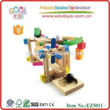 Wooden Roller Coaster Tracks Block Spielzeug
