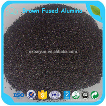 Alumine fondue abrasive / marron / grain d'alumine fondu marron / poudre fondue d'alumine marron