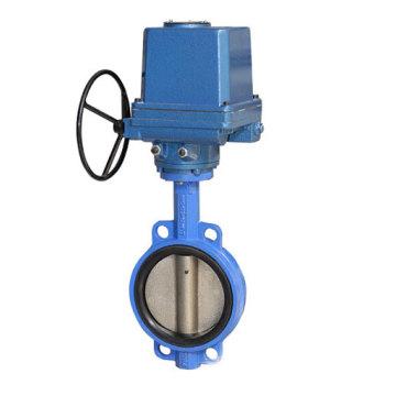 Вафельные Концентрического типа место EPDM Электрический регулирующий Клапан-Бабочка (D971X)