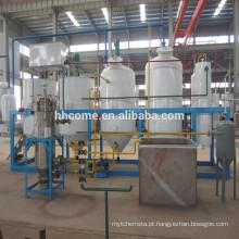 Fábrica de tratamento automática do óleo de coco do baixo preço, máquina da fabricação de óleo de coco com CE