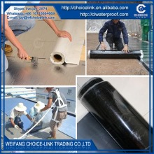 3mm polyester reinforced self adhesive asphalt waterproof sheet