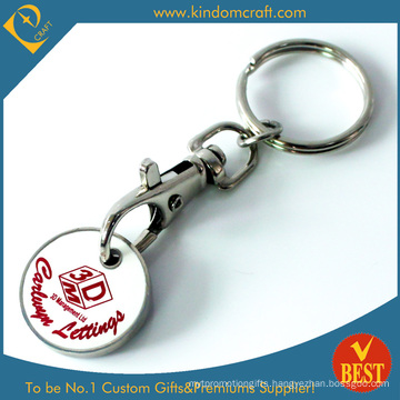 Custom Low Price Great Qualit Metal Trolley Coins