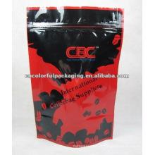 papel de aluminio de pie bolsa de café jumbo bolsa