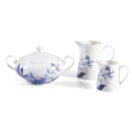 New Bone China Blue Floral Dinnerware